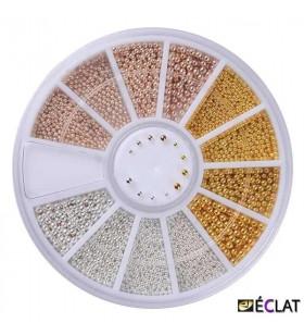 Altın Sarısı , Bakır ve Gümüş Kum Toplar 0.8-1.5mm