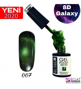 8D  Cat Eye (Kedi Gözü) GALAXY--C007