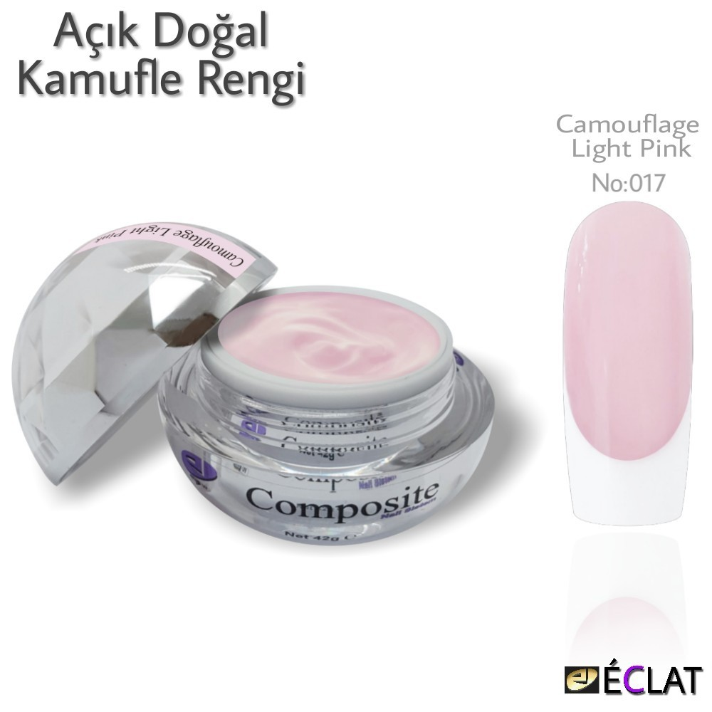 Composite  Camouflage Light Pink No : 017 (42 g)