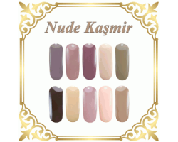 Nude Kaşmir Bej-Kahve Tonları