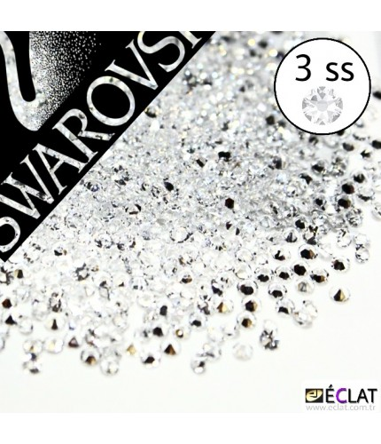 SWAROVSKİ  3SS ŞEFFAF 200 ADET